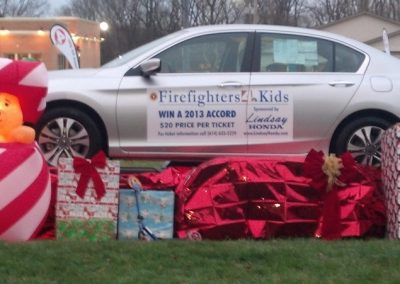 FireFighters 4 Kids Toy Drive Accord Raffle