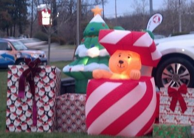 FireFighters 4 Kids Toy Drive Lawn Decorations