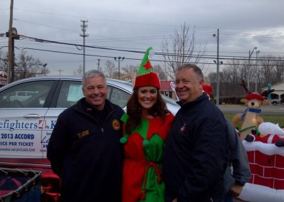 FireFighters 4 Kids Toy Drive NBC 4 News Reporter