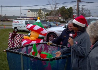FireFighters 4 Kids Toy Drive News Reporter