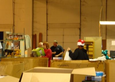 FireFighters 4 Kids Toy Drive Warehouse Pick-Up