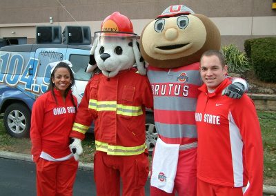 FireFighters 4 Kids Toy Drive Sparky and Brutus