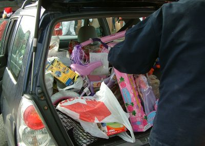 FireFighters 4 Kids Toy Drive Car Full of Toys